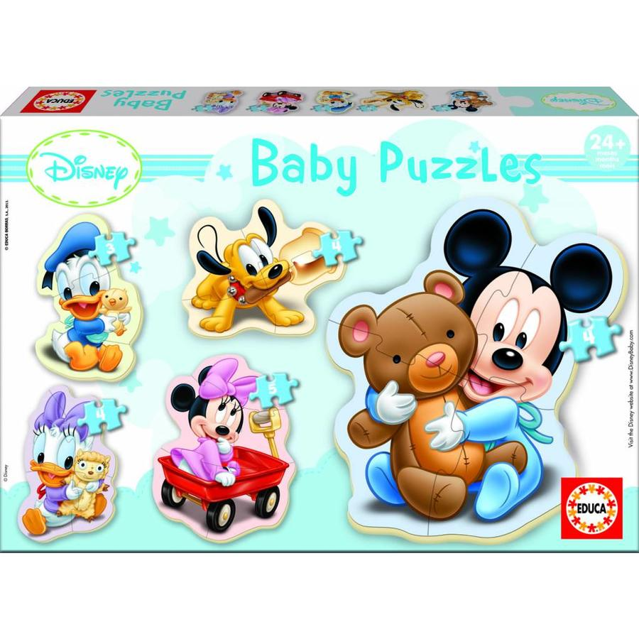 Baby Mickey - 3, 4 en 5 stukjes-1