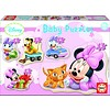 Educa Baby Minnie - 3, 4 and 5 pieces