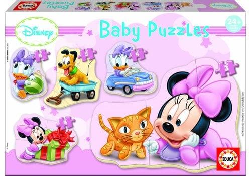 Educa Baby Minnie - 3, 4 en 5 stukjes