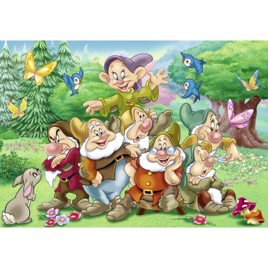The 7 dwarfs - 2 x 24 pieces-2