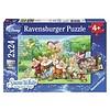 Ravensburger The 7 dwarfs - 2 x 24 pieces
