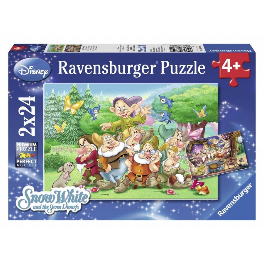The 7 dwarfs - 2 x 24 pieces-1