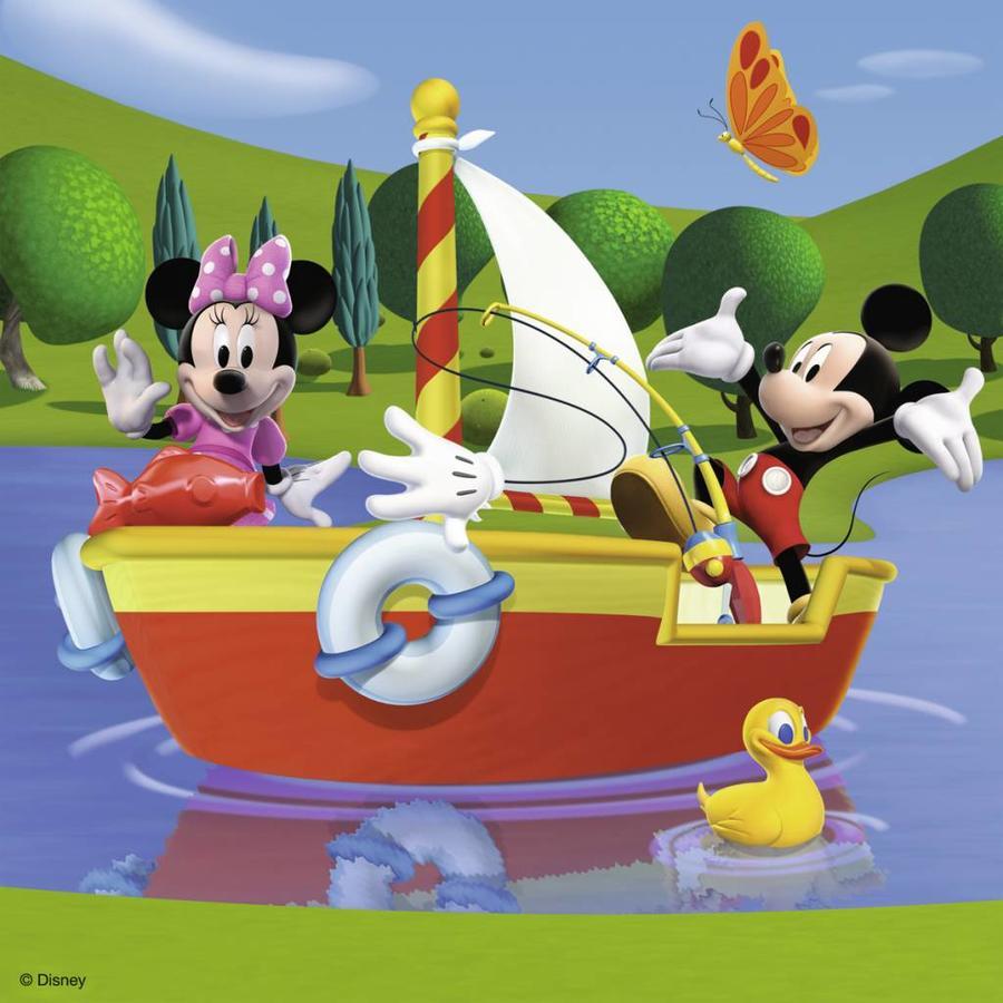Iedereen houdt van Mickey - 3 x 49 stukjes-2
