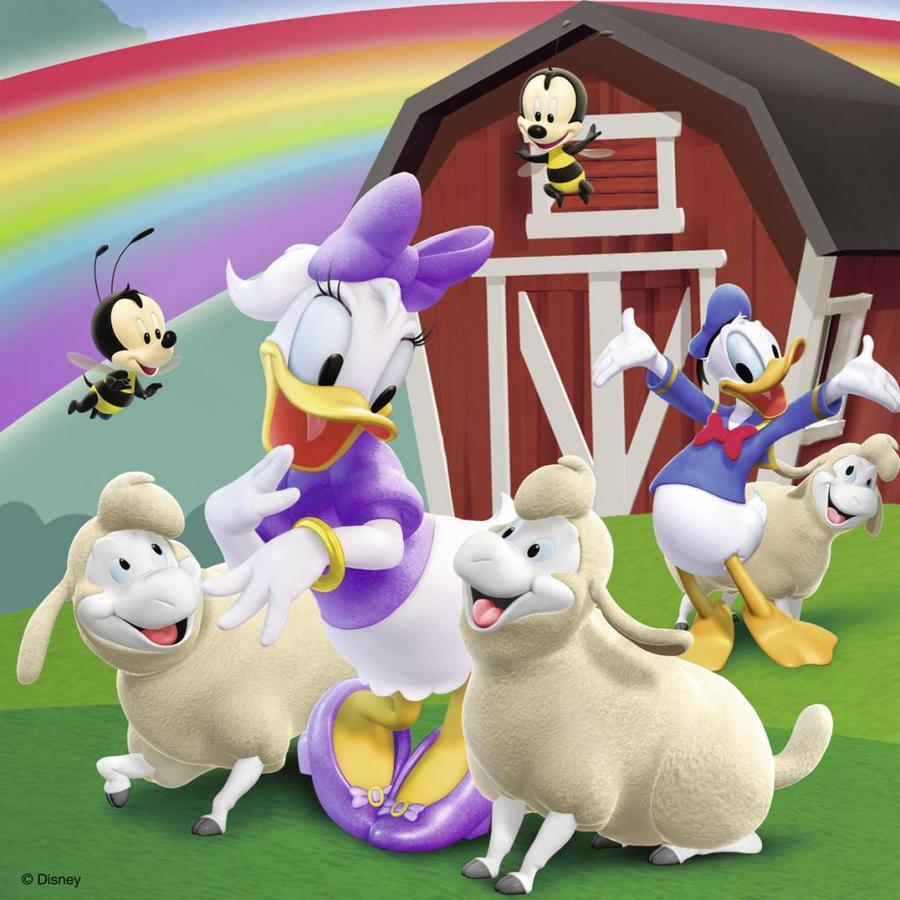 Iedereen houdt van Mickey - 3 x 49 stukjes-3