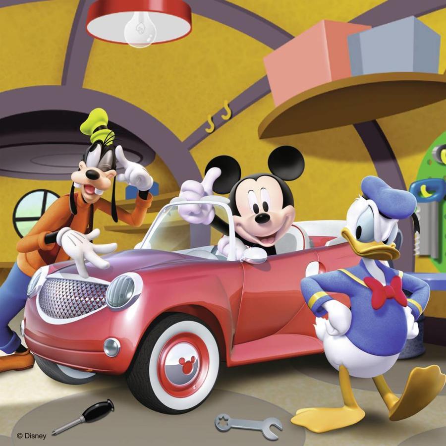 Iedereen houdt van Mickey - 3 x 49 stukjes-4