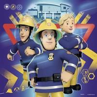thumb-Bij gevaar Brandweerman Sam roepen - 3 x 49 stukjes-2