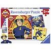 Ravensburger Bij gevaar Brandweerman Sam roepen - 3 x 49 stukjes