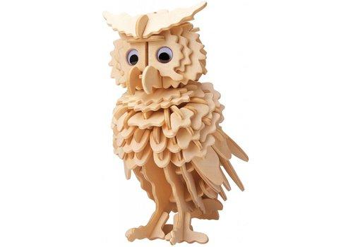 Owl - Gepetto's Workshop - 3D puzzle