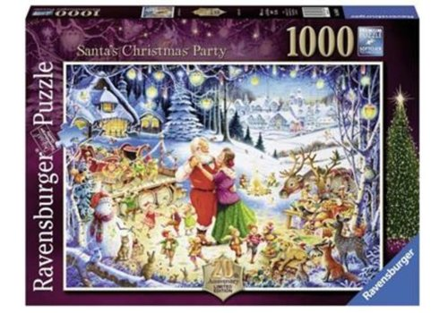 Santa's christmas party - 1000 stukjes