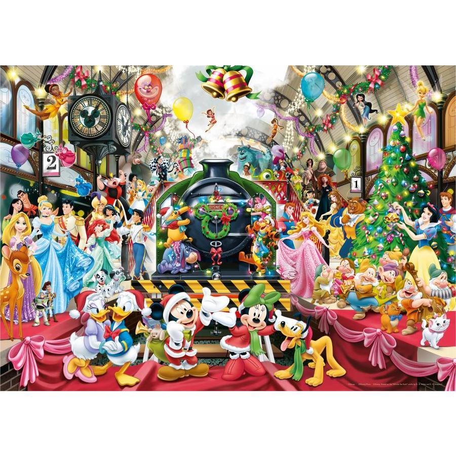 De kersttrein - legpuzzel van 1000 stukjes-2