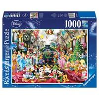 thumb-De kersttrein - legpuzzel van 1000 stukjes-1