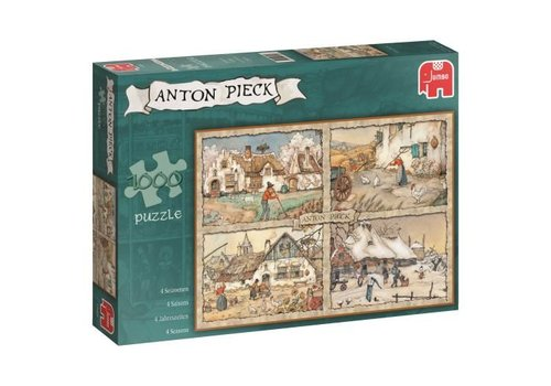 Seizoenen-Anton Pieck-1000 stukjes