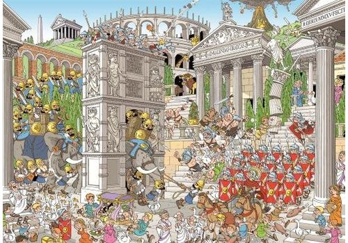 Piece of history: The Romans - 1000 pieces