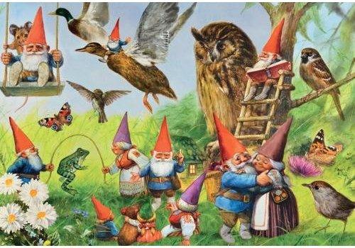 Kabouters in het bos - Rien Poortvliet - 1000 stukjes