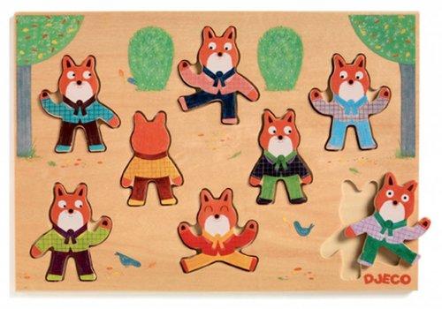 Djeco Foxymatch - 8 stukjes