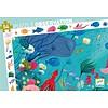 Djeco Search puzzle - in the ocean - 54 pieces