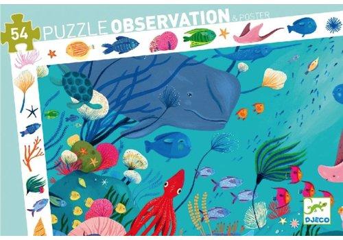Zoekpuzzel - in de oceaan - 54 stukjes