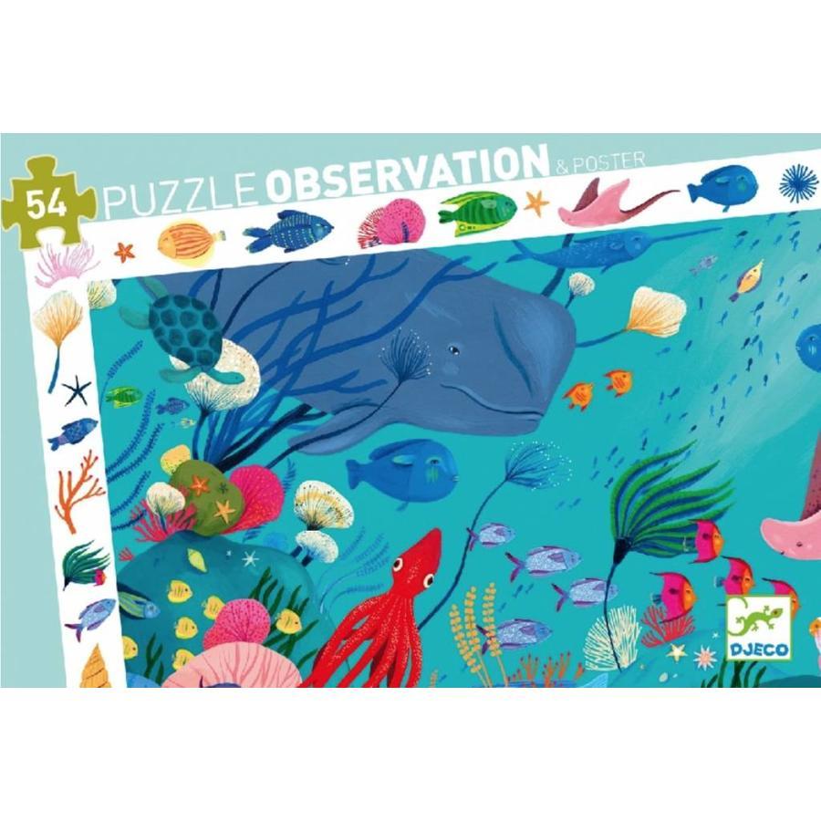 Puzzle de Recherche - dans l'océan - 54 pièces-1