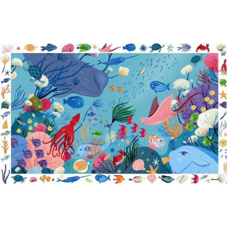 Zoekpuzzel - in de oceaan - 54 stukjes-2