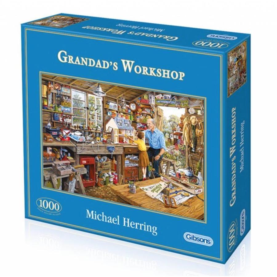 Grootvaders werkplaats - puzzel van 1000 stukjes-2