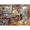 Gibsons Grootvaders werkplaats - puzzel van 1000 stukjes