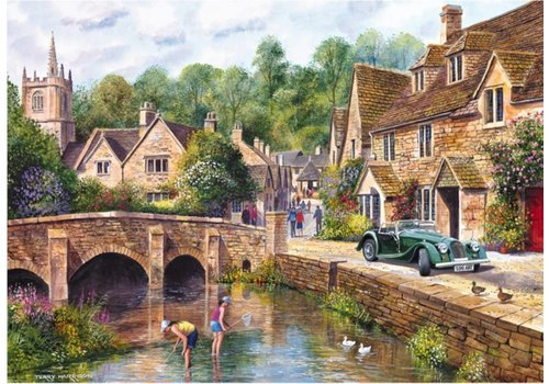 Gibsons The beautiful village of Castle Combe - 1000 pieces