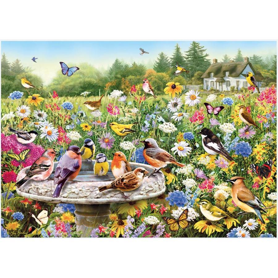 De geheime tuin - puzzel van 1000 stukjes-1
