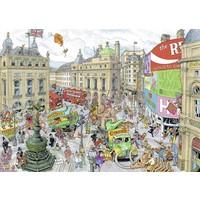 thumb-Fleroux - Londen - puzzel van 1000 stukjes-2