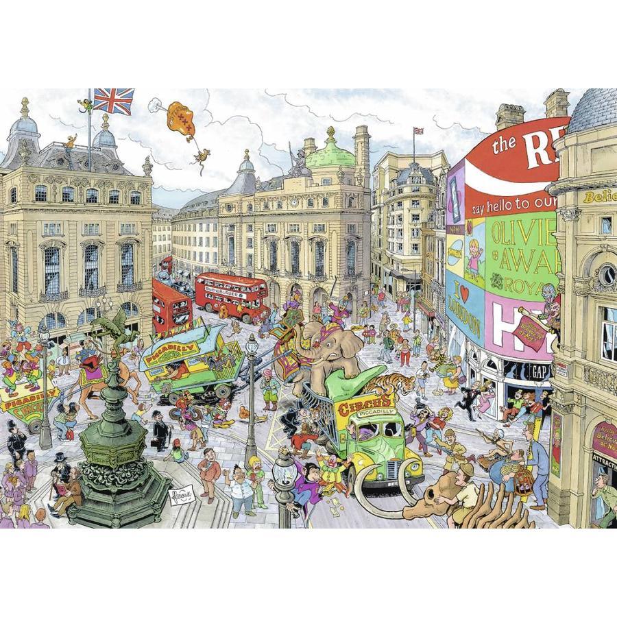 Fleroux - Londres - puzzle de 1000 pièces-2