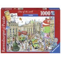 thumb-Fleroux - Londen - puzzel van 1000 stukjes-1