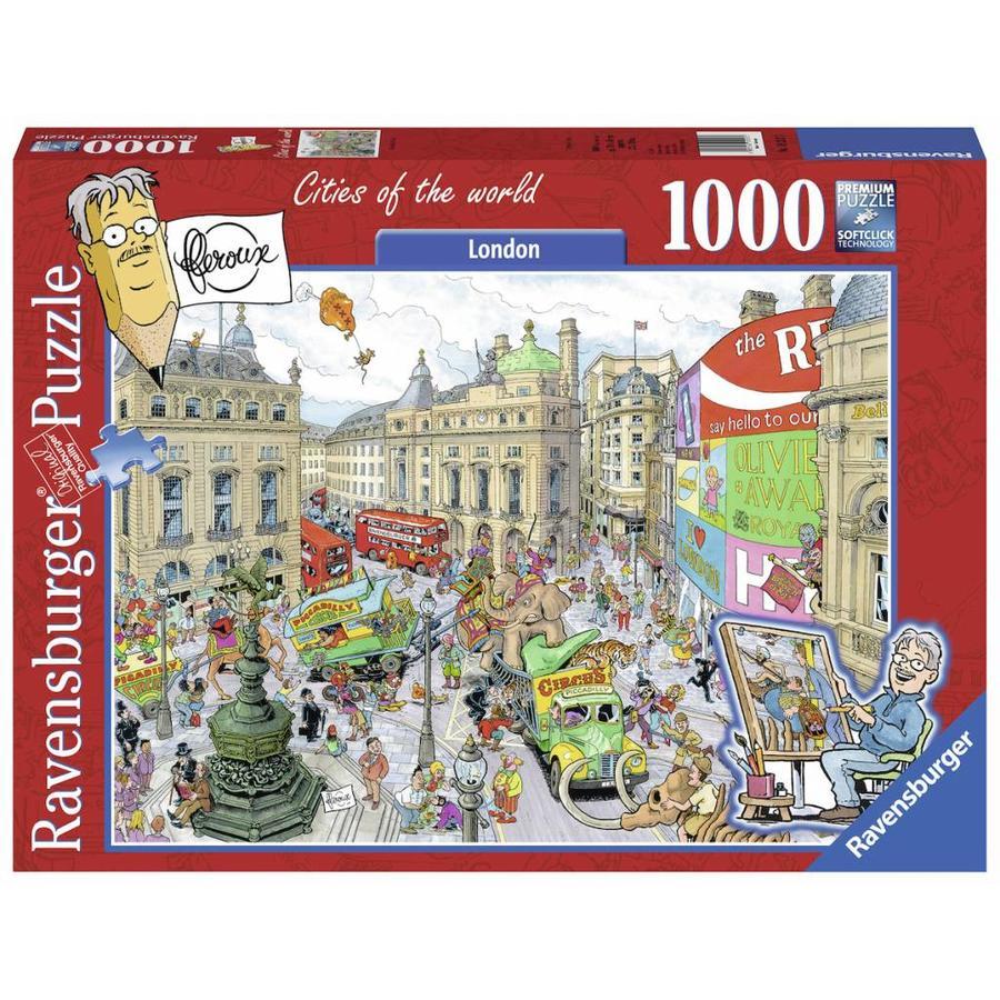 Fleroux - Londen - puzzel van 1000 stukjes-1