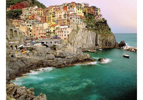 Cinque Terre in Italië - 2000 stukjes