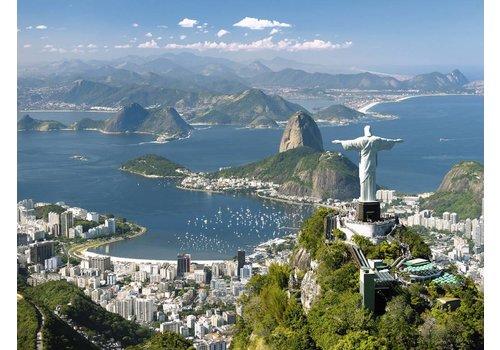 Uitzicht op Rio - 1500 stukjes