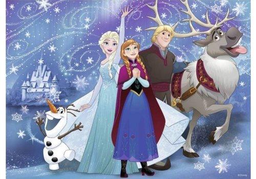 Frozen - glinsterende sneeuw - 100 stukjes XXL