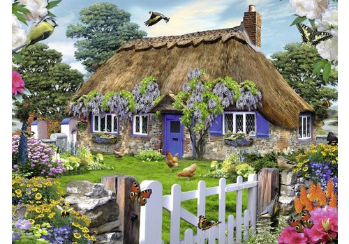 Cottage in Engeland - 1500 stukjes