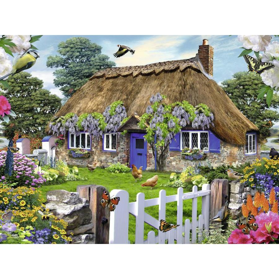 Cottage in Engeland - 1500 stukjes-1