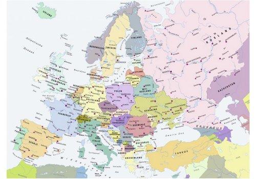 La carte de l'Europe - 300 pièces