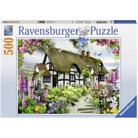 thumb-Idyllische cottage - puzzel van 500 stukjes-2