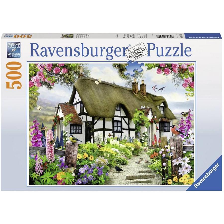 Idyllische cottage - puzzel van 500 stukjes-2