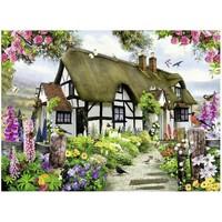 thumb-Idyllische cottage - puzzel van 500 stukjes-1