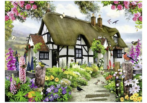 Ravensburger Idyllic cottage - 500 pieces