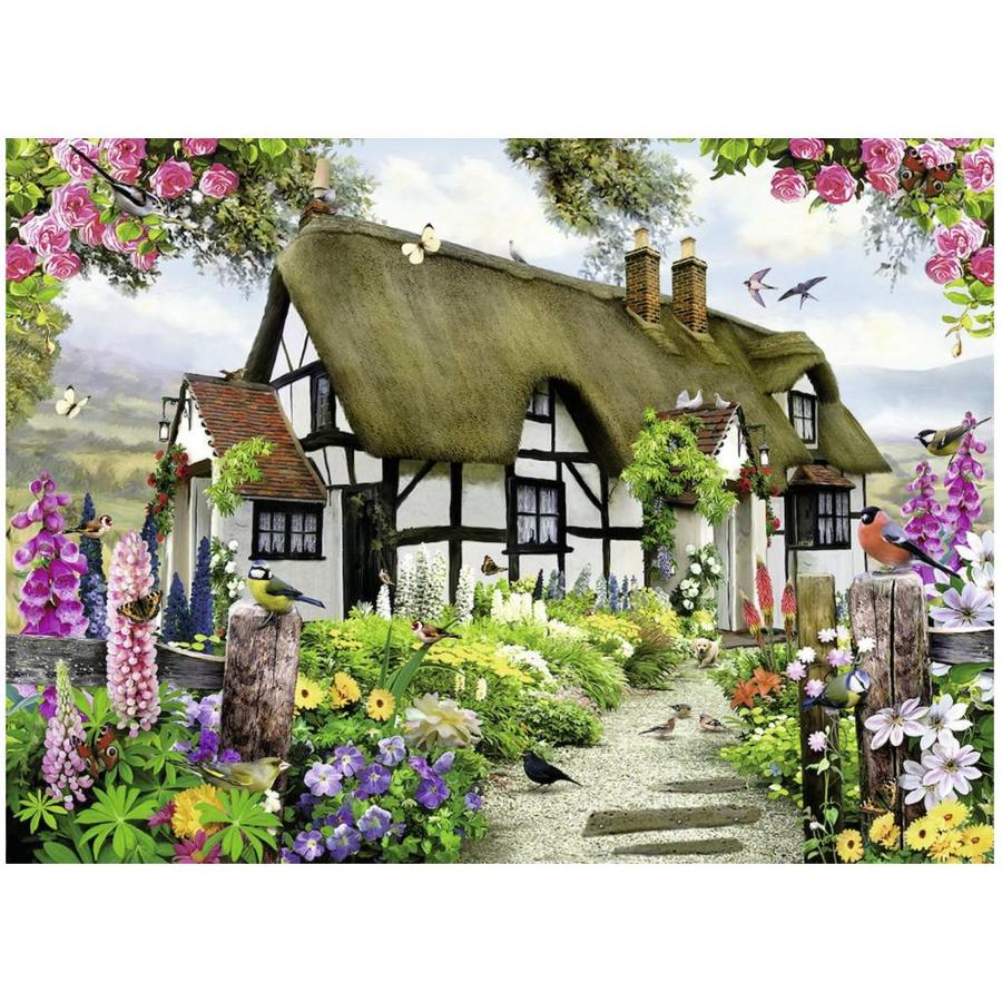 Idyllische cottage - puzzel van 500 stukjes-1