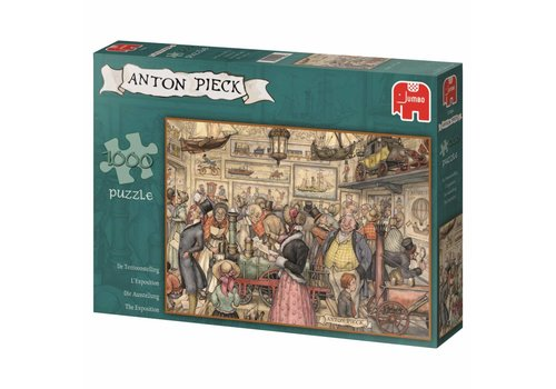 Exhibition - Anton Pieck - 1000 pieces