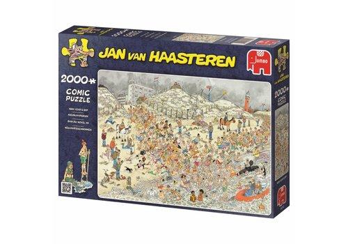 Nieuwjaarsduik - JvH - 2000 stukjes