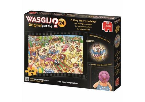 Wasgij Original 24 - A very nice holiday - 1000 pieces