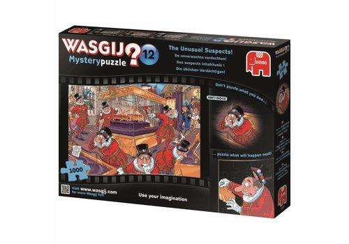 Wasgij Mystery 12 - De onverwachte verdachte - 1000 stukjes