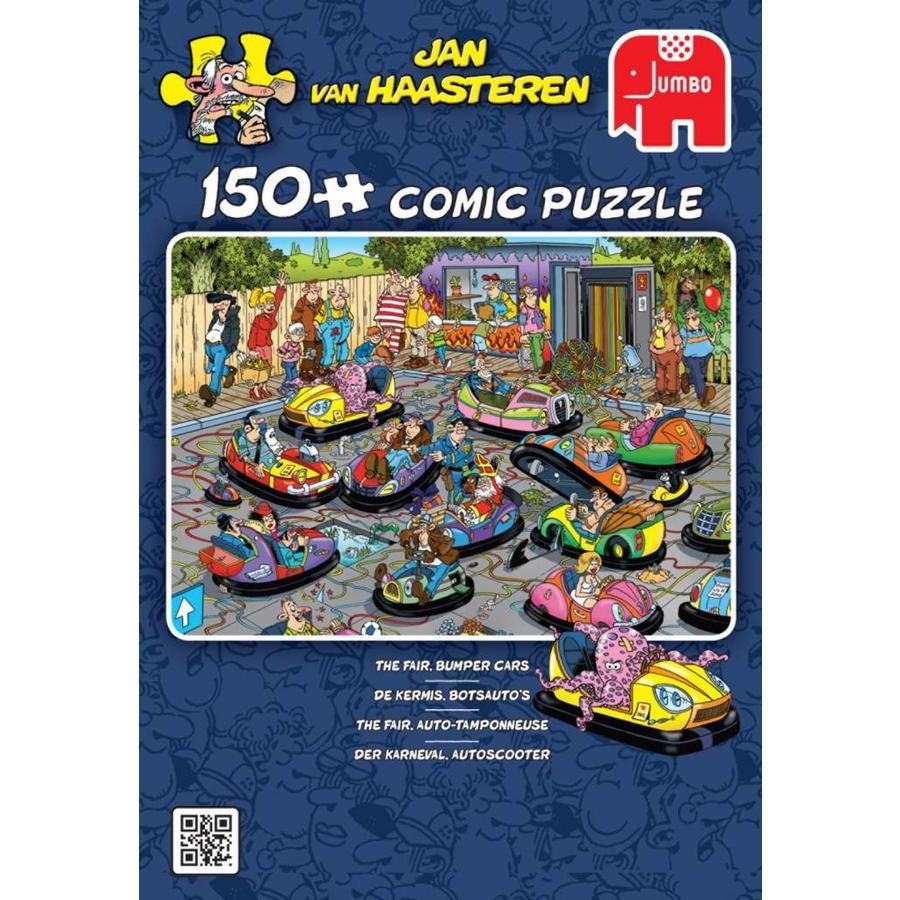 autos tamponneuses - Jan van Haasteren - 150 pièces-4