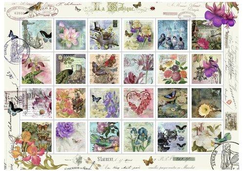 Postzegelverzameling - 1000 stukjes