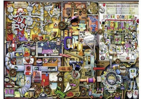 De kast van de uitvinder - 1000 stukjes