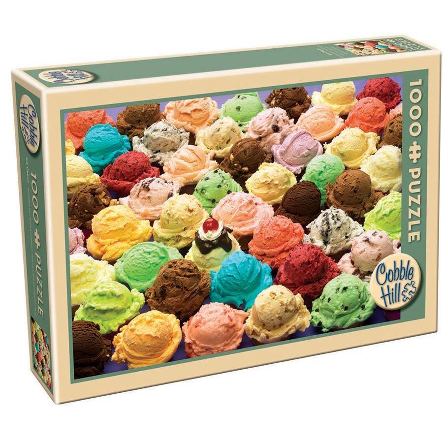 Crèmes glacées - 1000 pièces-2